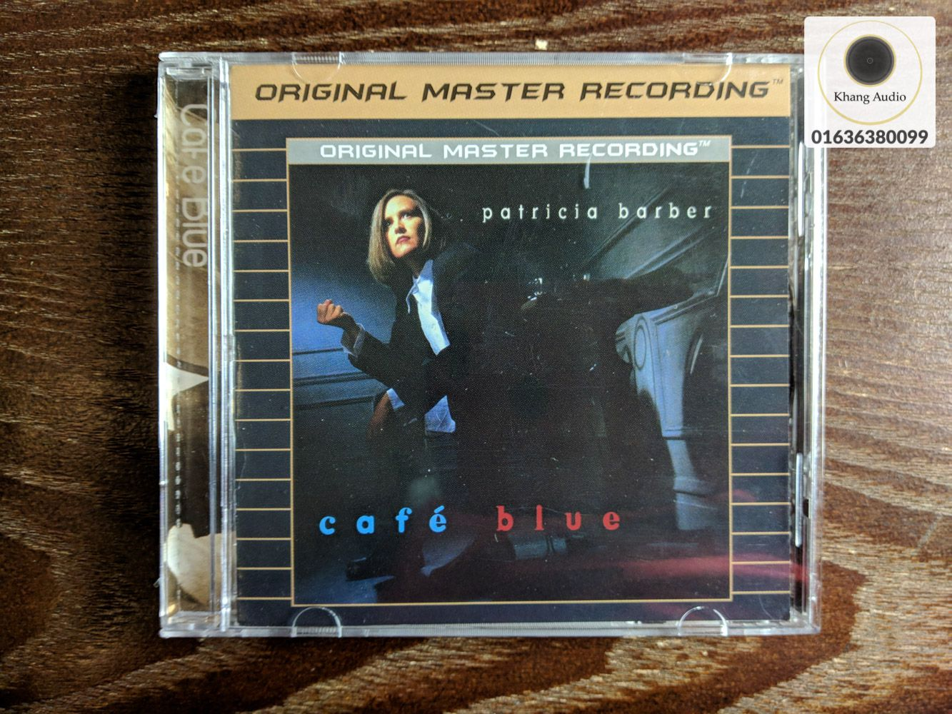 Cafe Blue - Patricia Barber Khang Audio 0336380099