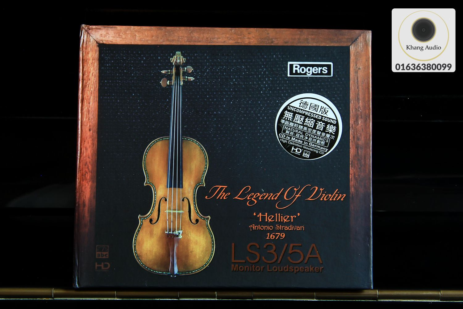 The Legend Of Violin 'Hellier' HQ