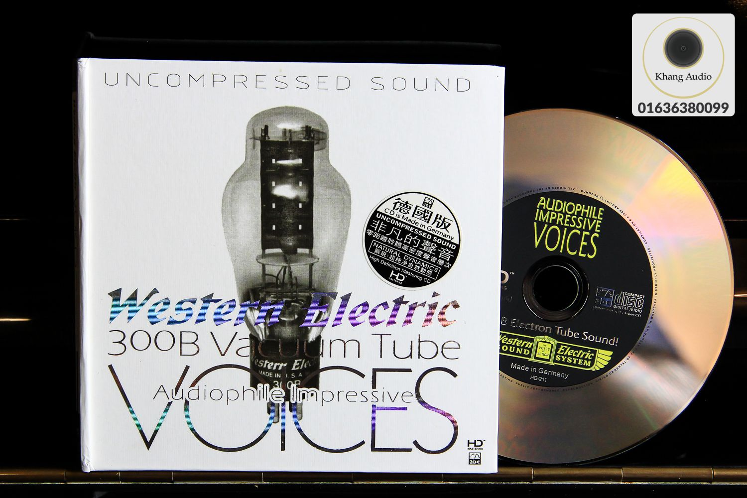 Western Electric 300B Vacuum Tube Voices - Audiophile Impressive HQ