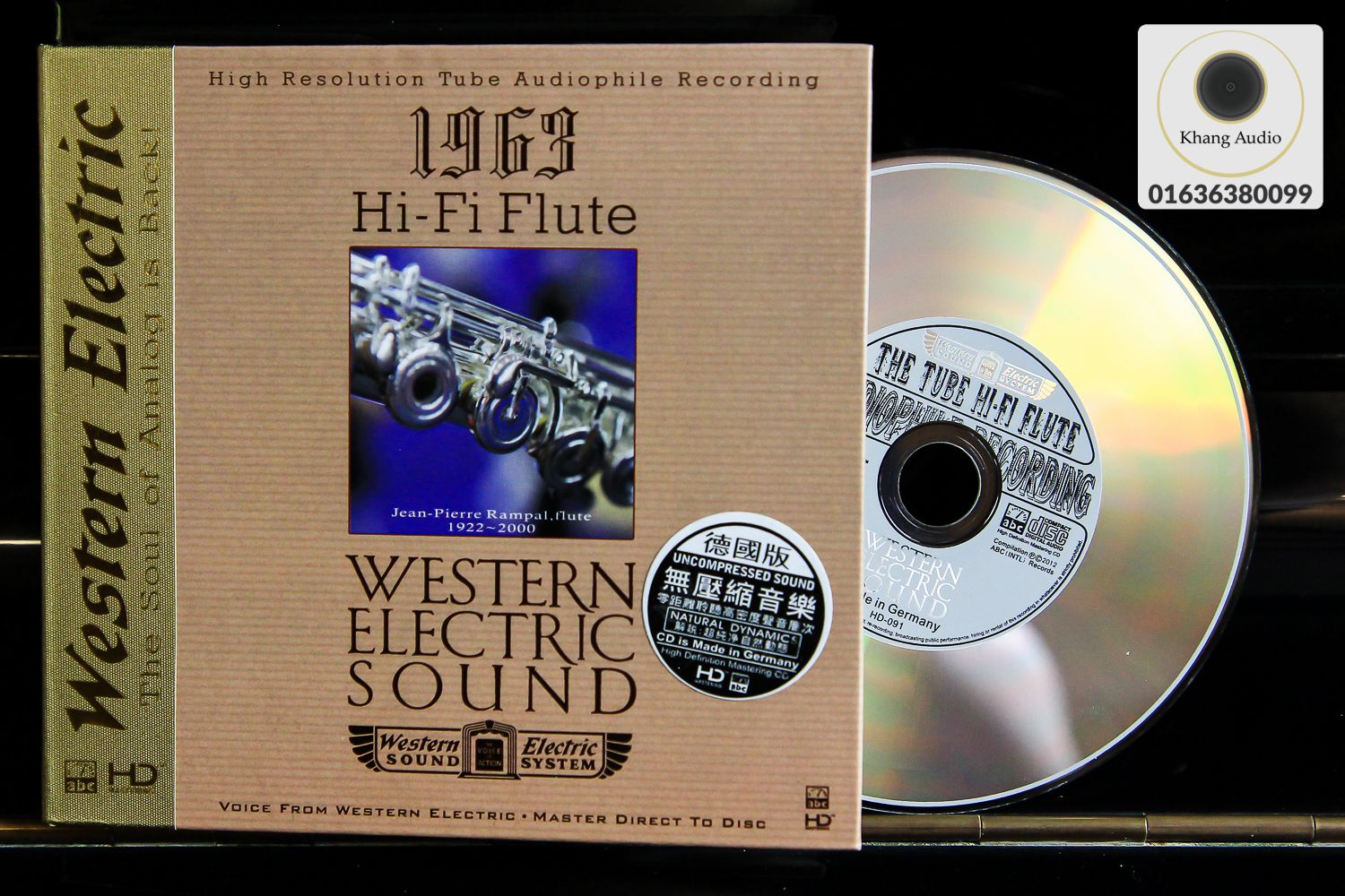 Western Electric Sound - 1963 Hi-Fi Flute HQ