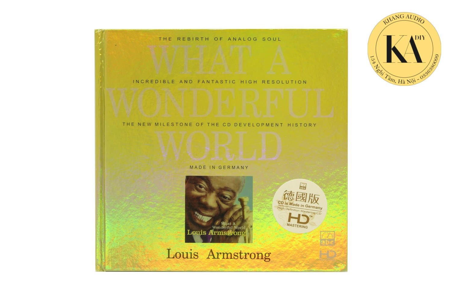 What A Wondenful World - Louis Armstrong Khang Audio 0336380099