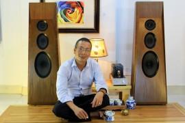 loa ván hở dòng loa 3 đường tiếng của Isophon Klang film do khang-audio DIY