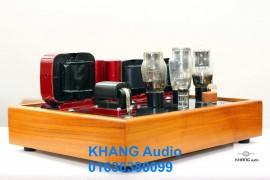 Amply đèn và loa toàn dải hướng chơi hoài cổ của Khang-audio.
