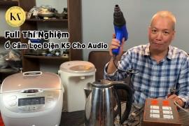 Thí Nghiệm Ổ Cắm Lọc Điện Cho Audio K5