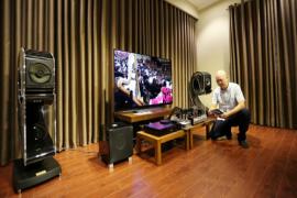 Dàn âm thanh hàng trăm triệu đồng của chuyên gia Khang Audio