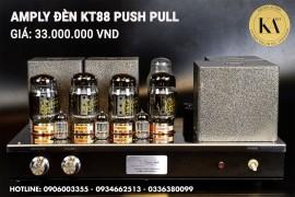 Amply Đèn KT88 PUSH PULL - Kiểm soát tốt âm thanh, độ chi tiết cao